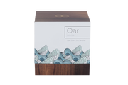 Only Orb - Azure Glass Orb + Oar Candle