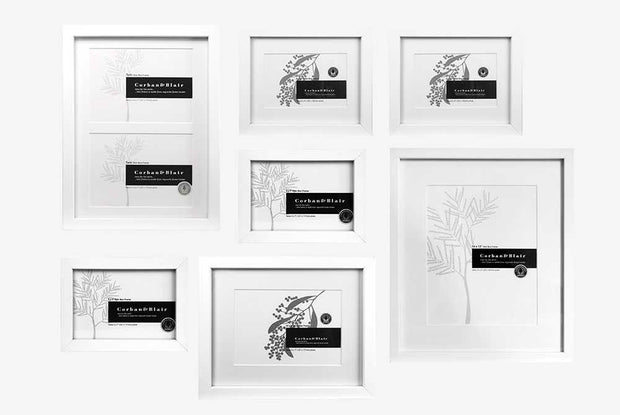 Corban & Blair - Toko Wall Of Frames - White