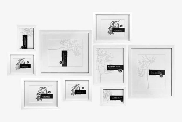 Corban & Blair - Tapu Wall Of Frames - White