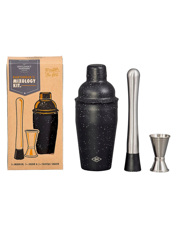 Gentlemen's Hardware - Bartender Mixology Kit