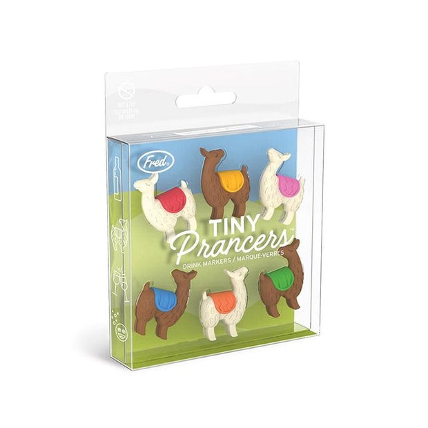 Tiny Prancers - Llama Drink Marker (Set of 6)