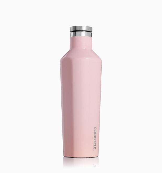Corkcicle 16oz Canteen Bottle - Rose Quartz