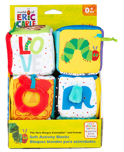 The Very Hungry Caterpillar - Soft Activity Blocks