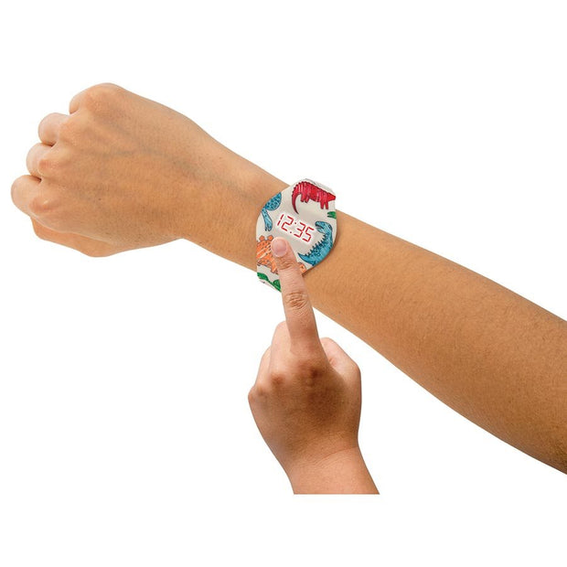 Push It! Colour In LED Watch - Space