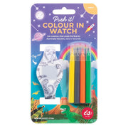 Push It! Colour In LED Watch - Unicorn