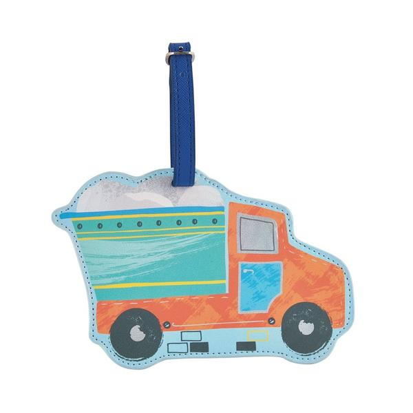 Floss & Rock - Construction Luggage Tag
