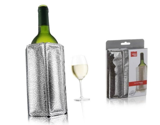 Vacu Vin Active Wine Cooler (Silver)