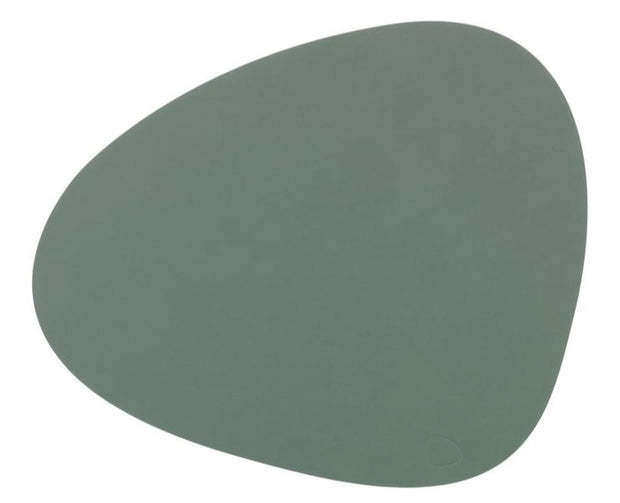 LIND DNA - Table Mat Curve Large - Nupo Pastel Green