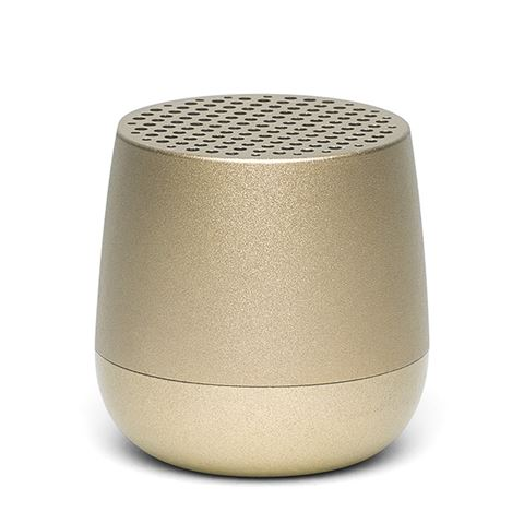 Lexon - Mino Light Gold Portable Bluetooth Speaker