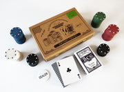 Gentlemans Emporium - 100 Chip Poker Set