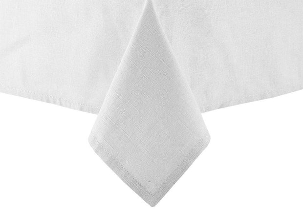Ladelle - Base Linen Look Tablecloth 1.5x2.65m - White