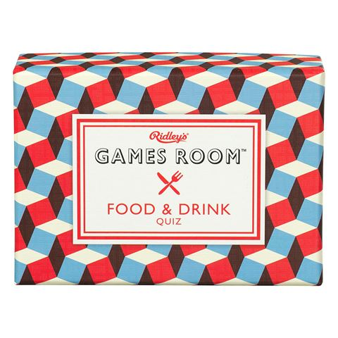 Ridley's Games Room- Food & Drink Quiz