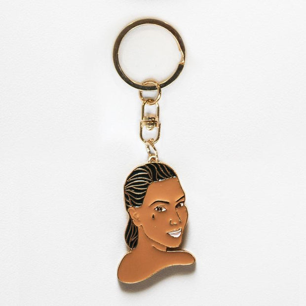 Famous Flames Kimmy K Keyring
