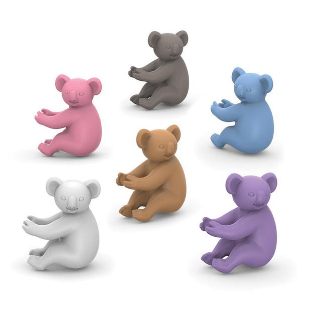 Fred Social Climbers - Koala Wine Markers (set of 6)