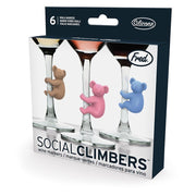 Fred - Social Climbers Koala Wine Markers (set of 6)