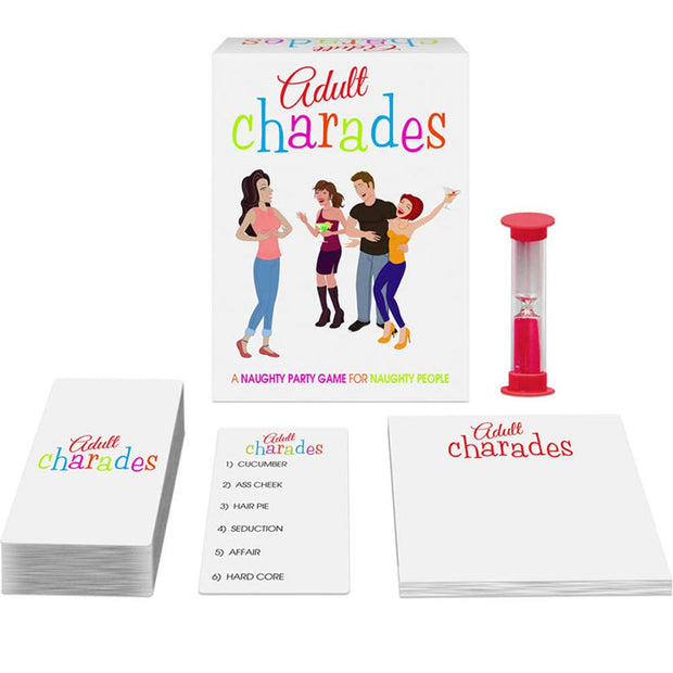Adult Charades - The Naughty Party Game