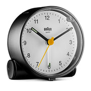 Braun Classic Analogue Alarm Clock (Bc01bw) - Black & White