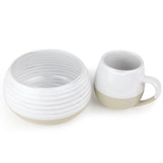 Robert Gordon - Morning Hugs Bowl & Mug Set - Snow