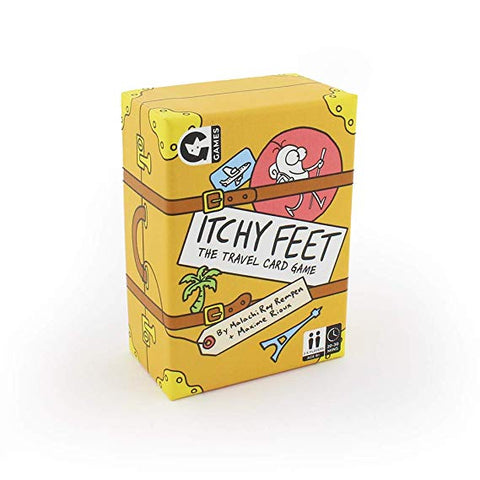 Itchy Feet Travel Card Game