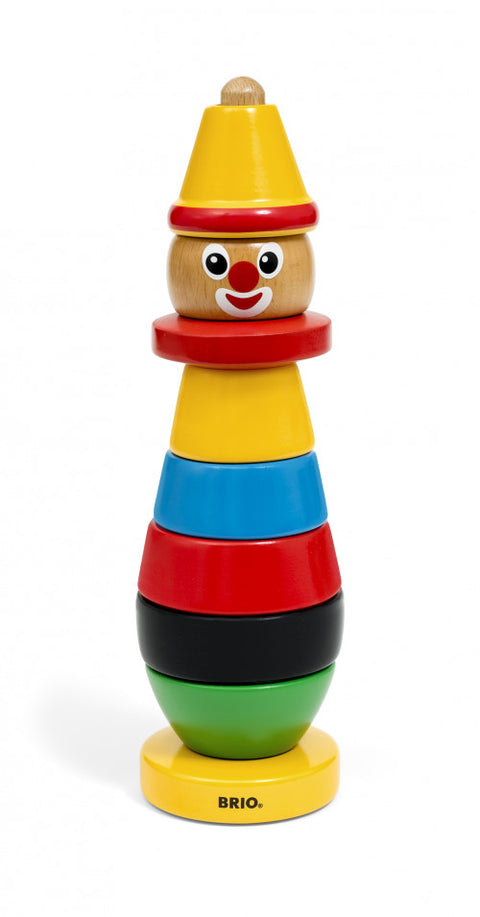 BRIO - Stacking Clown (9 Pieces)