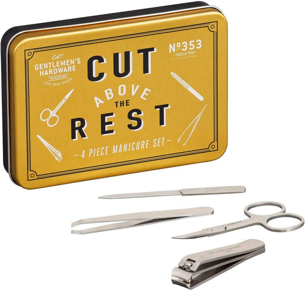 Gentlemen's Hardware - Manicure Set in Tin