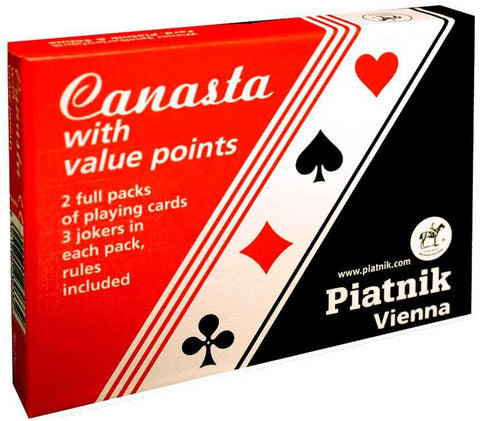Canasta Cards (with value points)