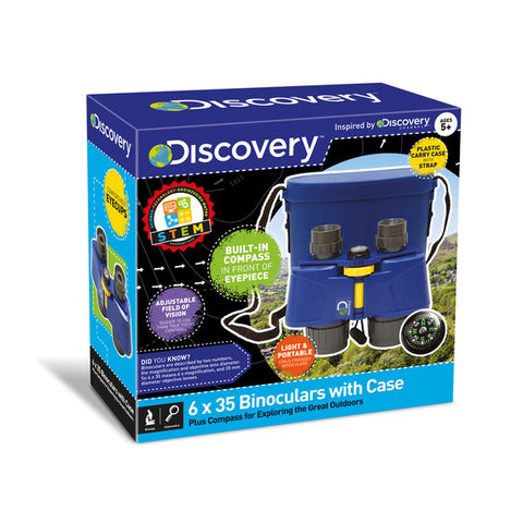 Discovery Kids Binoculars With Carry Case