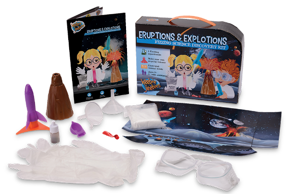 Eruptions and Explosions Experiment Kit