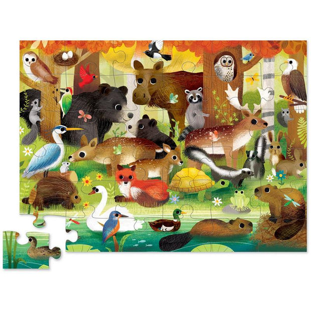 Crocodile Creek - 36pc Puzzle: Forest Friends