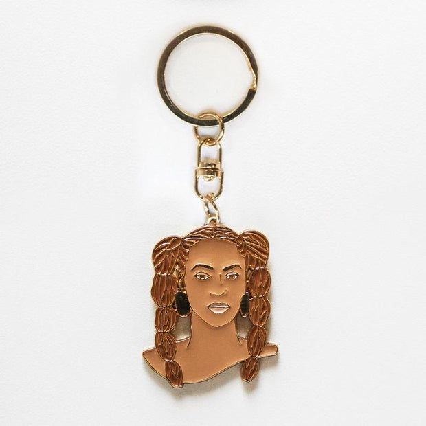Famous Flames Queen B Keyring
