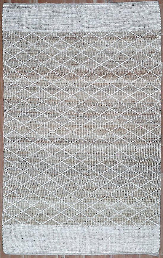 Plimmerton Natural/White Rug