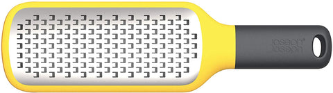 Joseph Joseph - Grip-Grater™ Paddle Coarse Grater With Bowl Grip - Yellow
