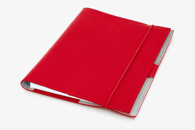 Corban & Blair - Leather A5 Journal - Red