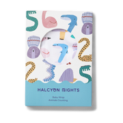 Halcyon Nights - Animals Counting Baby Wrap