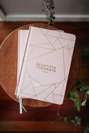 A5 Beautiful Thoughts | Blush