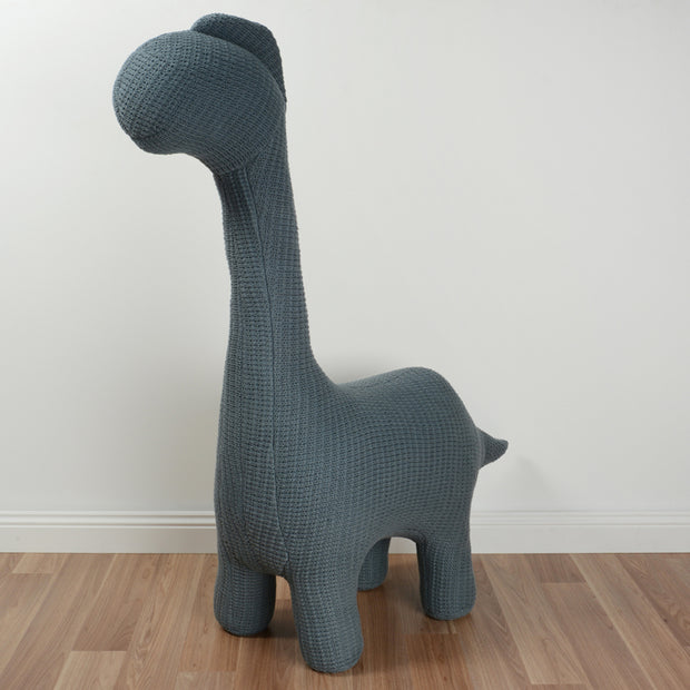 Habitat 101 - Dino the Dinosaur Junior Chair - Dark Grey