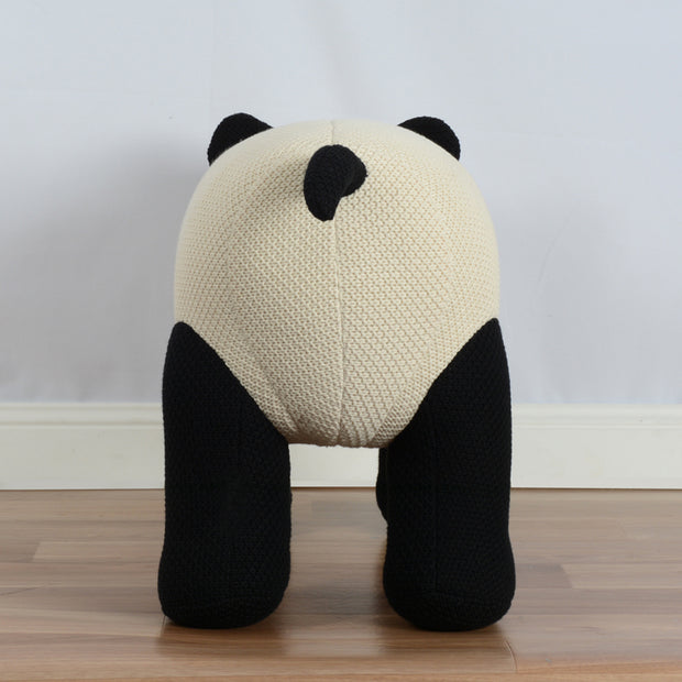 Habitat 101 - Peri The Baby Panda Small Chair Black and White