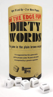 Dirty Words Dice Game