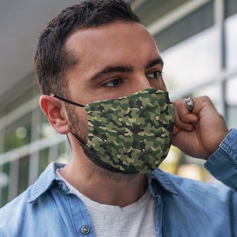 Annabel Trends - Face Mask - Adult Camo