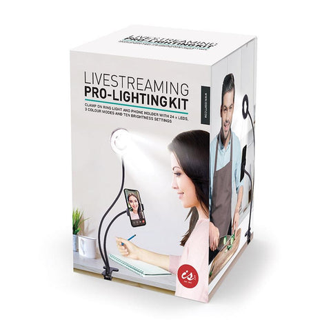 Livestreaming Pro-Lighting Kit