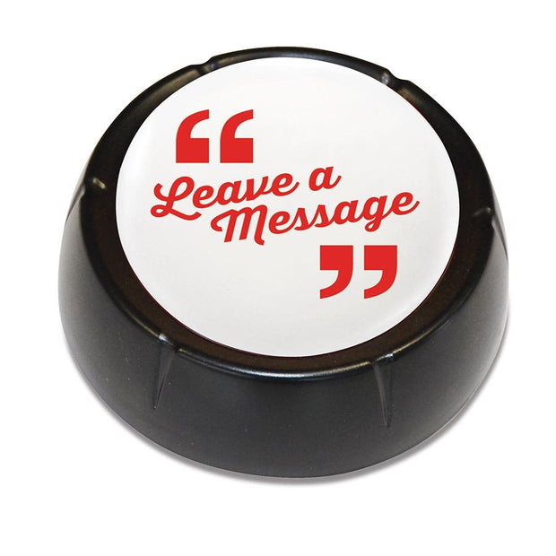 The 'Leave a Massage' Button: Record Your Own Message