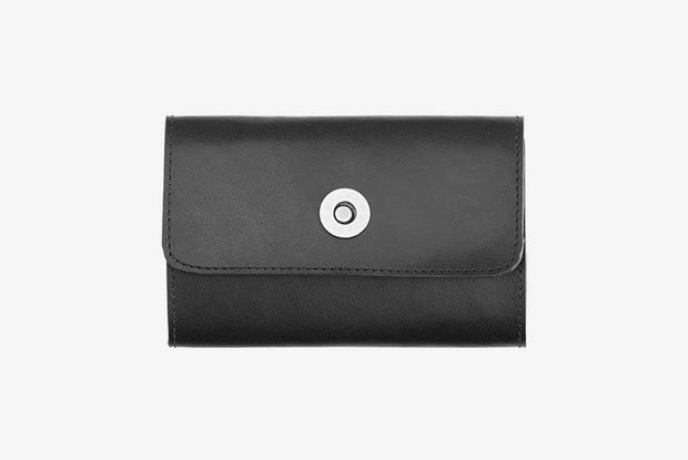 Corban & Blair - Leather Loyalty Card Holder - Black