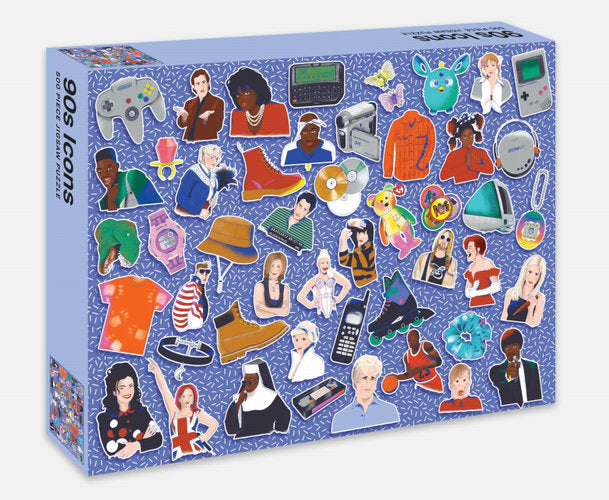 90s Icons 500-Piece Jigsaw Puzzle
