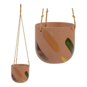 Habitat101 - Frankie Hanging Planter Pot 15cm Earthen