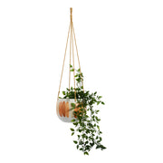 Habitat101 - Frankie Hanging Planter Pot 18cm Earthen