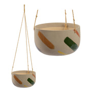 Habitat101 - Frankie Hanging Planter Pot 23.8cm Earthen