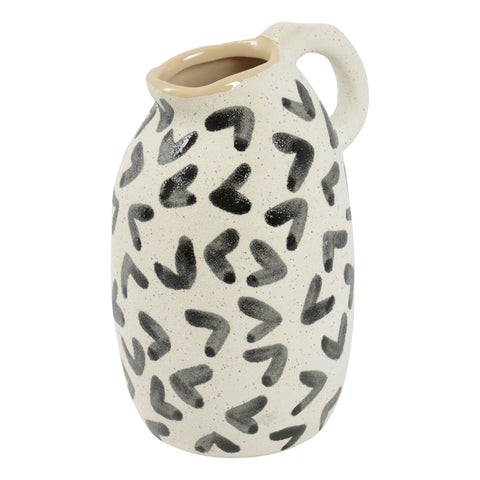 Habitat 101 - Moodi Vase (12.2cm) - Black Arrow