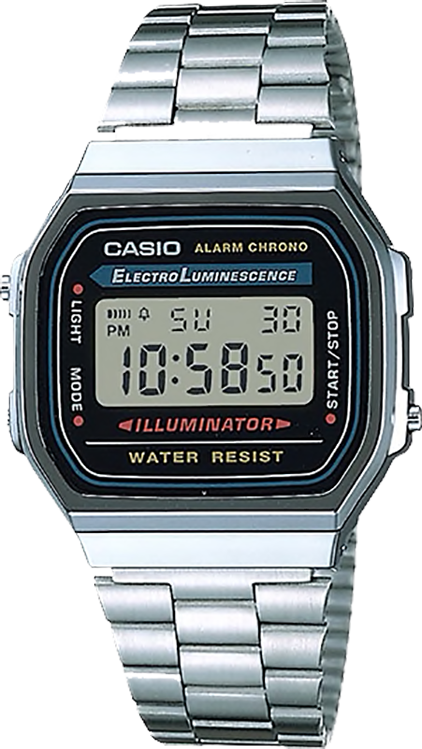 Casio Vintage Watch - A168WA-1DF