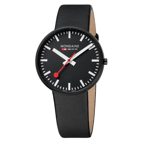 Mondaine Watch - Giant Black & White - A660.30328.64SBB