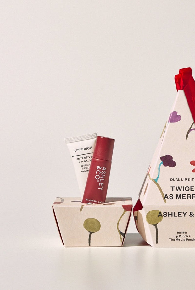 Ashley & Co - Twice As Merry - Lip Duo